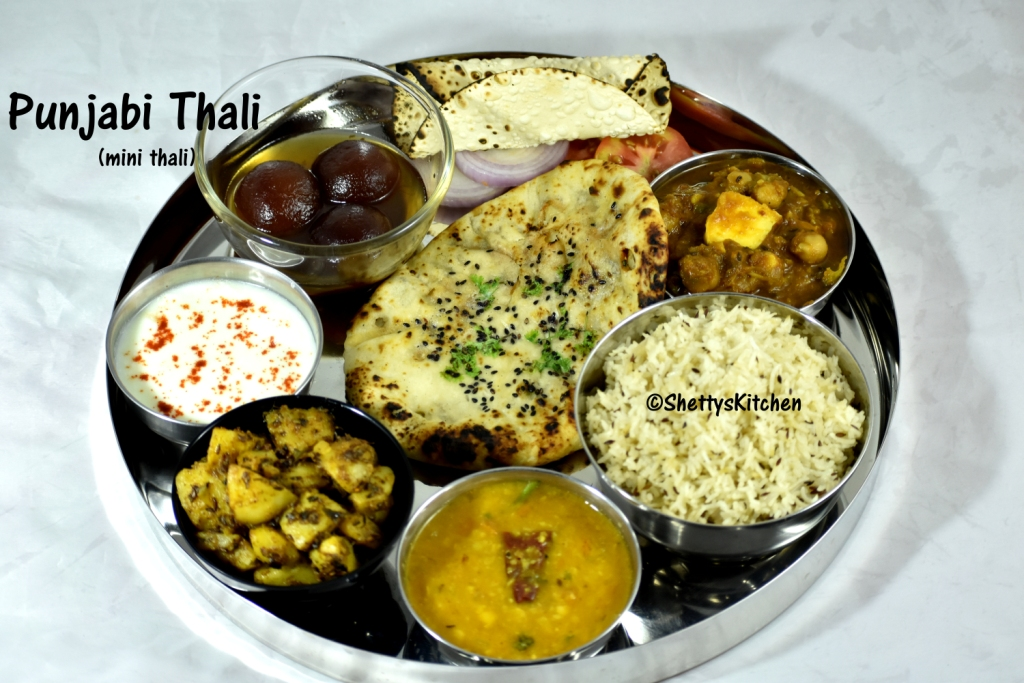 Punjabi thali recipe north indian veg thali indian lunch menu punjabi thali recipe north indian veg thali indian lunch menu ideas forumfinder Image collections